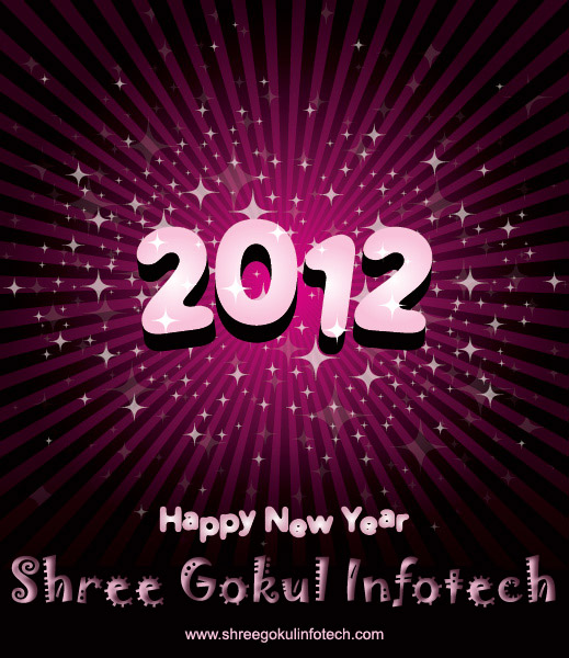 ShreeGokulInfotechNEWYEAR2012